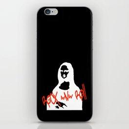 Mona Rock iPhone Skin