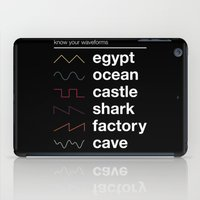 physics iPad Cases featuring Know your Waveforms by Florent Bodart / Speakerine