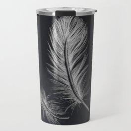Chalk feather collection Travel Mug