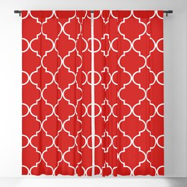 Quatrefoil - Candy Blackout Curtain