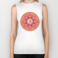ohm Biker Tanks featuring Ohm by TypicalArtGuy