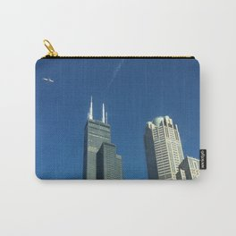 View of the Willis Tower from a Taxi, Chicago, Illinois Carry-All Pouch