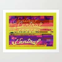 Central Camera, Chicago   Project L0̷SS   Art Print