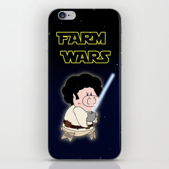 Farm Wars - Luke edition iPhone & iPod Skin