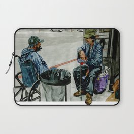 Homeless Series 2 ~ Sunset Blvd., Los Angeles, CA. Laptop Sleeve