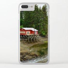 Seldovia Slough - Alaska Clear iPhone Case