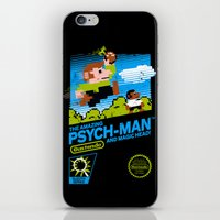 psych iPhone & iPod Skins featuring The Amazing Psych-Man and Magic Head! by girardin27