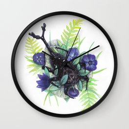 Resting Place Wall Clock