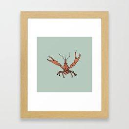 Mr. Crawfish Framed Art Print
