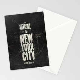 Welcome to New York City Stationery Cards