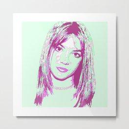 Britney Spears Metal Print