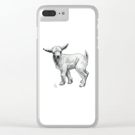Little Goat Baby  SK134 Clear iPhone Case