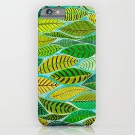 Jungle Leaves Loraine Callow Designs iPhone Case