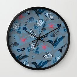 Alchemy of Protea Wall Clock