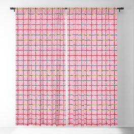 Bubblegum and Confetti Pattern Blackout Curtain