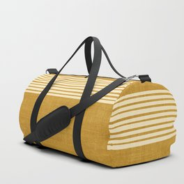 Band in Gold Duffle Bag