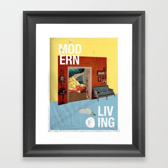 Modern Living  Framed Art Print