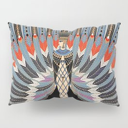 "Art Deco Egyptian Design ""The Nile"" Pillow Sham"