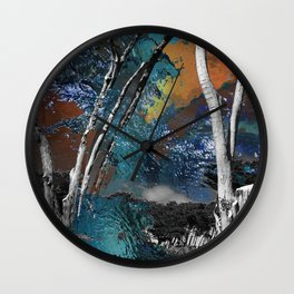 Light in the Wilderness Wall Clock