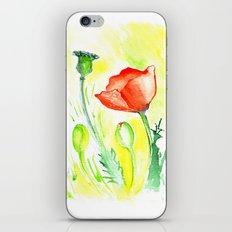 Papaver III iPhone Skin