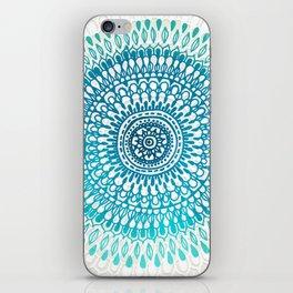 Radiate in Teal + Emerald iPhone Skin