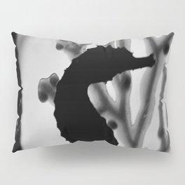 Seahorse Silhouette Pillow Sham