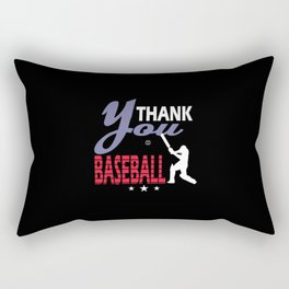 Thank you Baseball Rectangular Pillow