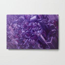 Lavender City Metal Print