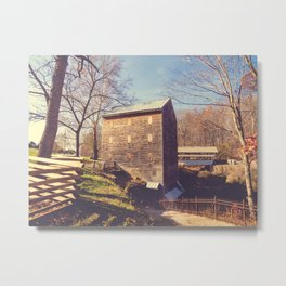 Rock Mill 4 Metal Print