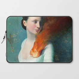 Portrait of a Heart Laptop Sleeve