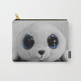 Huggable photogenic seal Carry-All Pouch