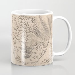 Wave by Katsushika Hokusai 1760–1849, Japanese Coffee Mug