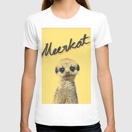 Meerkat   Yellowcard NO.1 T-shirt