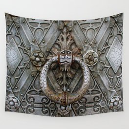 the door keeper Wall Tapestry