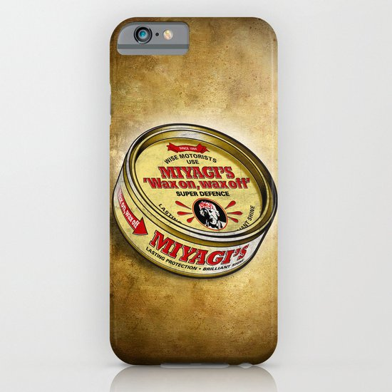 Miyagi's Super Wax iPhone & iPod Case