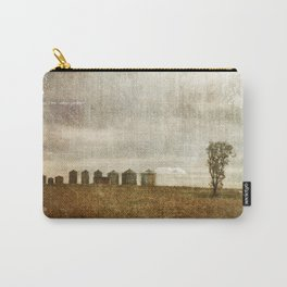 Nine Silos a Tank and a Tree Carry-All Pouch