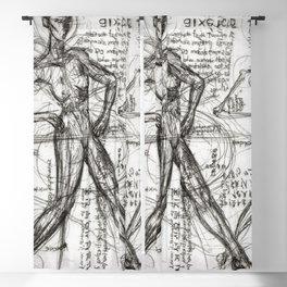Clone Death - Intaglio / Printmaking Blackout Curtain