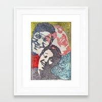 novelty Framed Art Prints featuring Novelty, No Talent, or Hack by AcerbicAndrewArt