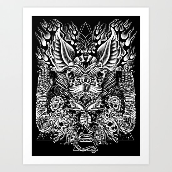 Haunter of the Dark Art Print