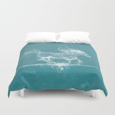The Water Horse Duvet Cover