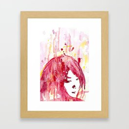 My, Me Framed Art Print