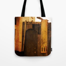 Gumball Machine Grunge Tote Bag