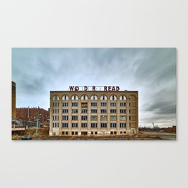 Abandoned Bread Factory Canvas Print