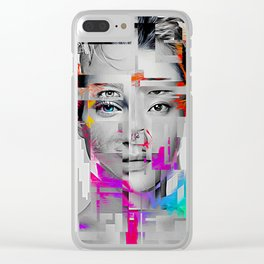 ALL FACES of L.O.V.E. Clear iPhone Case