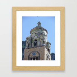 Amalfi Cathedral Framed Art Print