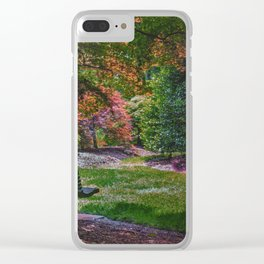 The Park Bench Clear iPhone Case
