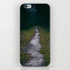 Green Sighs iPhone & iPod Skin
