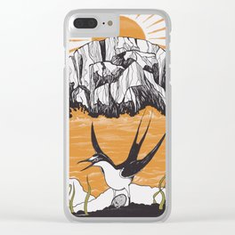 The Birdman Religion Clear iPhone Case