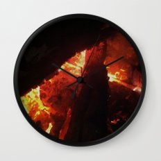 Bonfire~takibi~ Wall Clock