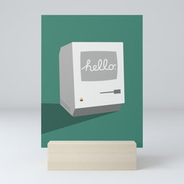 Hello Mac (Reimagined Apple Ad) Mini Art Print